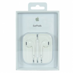 Auricolari Originali Apple con microfono colore bianco con blister originale
