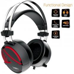 Cuffie Gaming Gamdias Hebe E1 Usb & Jack 3,5mm Headset Con Microfono e Lightning RGB