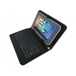 """Custodia Protettiva Universale con tastiera USB incorporata per Tablet 7"""""""