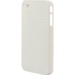 Cover iphone 4/4s airhole bianca in tpu keyteck cph-13