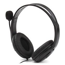 Cuffie con microfono e cuscinetti compatibili con Xbox 360 nero