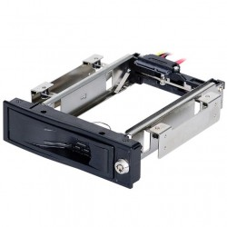 """Cassetto Estraibile per HDD SATA 3,5'"""" Con chiusura di sicurezza a chiave"""